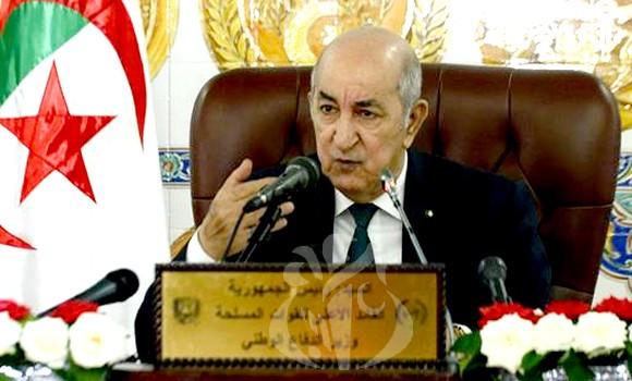 Photo of L'amendement constitutionnel, la base de la nouvelle Algérie, selon le président Tebboune.