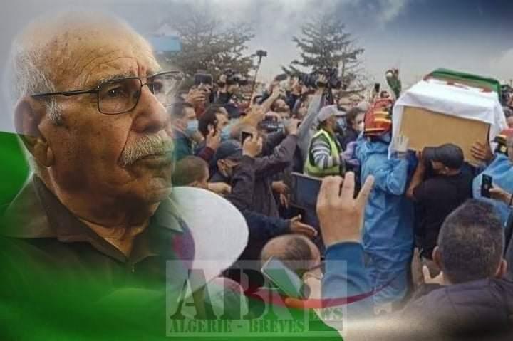 Photo of Enterrement de Lakhdar Bouregaa: le dernier hirak du Moudjahid