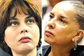 Photo of Houda Feraoun et Djamila Tamazirt , deux ministres sous mandat de dépôt.