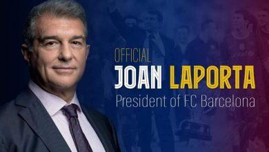 Photo of Laporta nouveau président du Barça