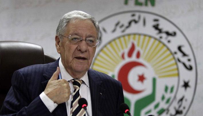 Photo of Djamel Ould Abbes placé en détention.