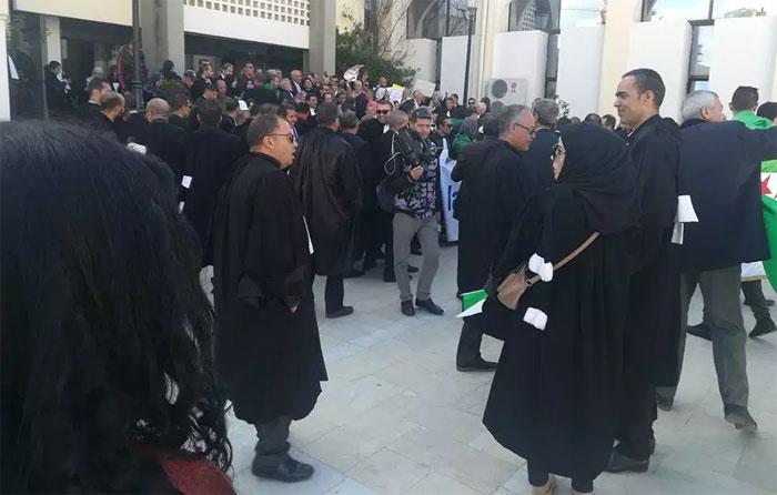Photo of Bouira : Quand les magistrats rejoignent le peuple: Ils exigent le départ du système