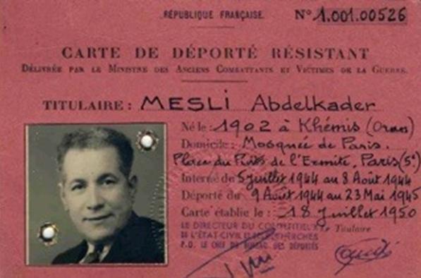 Photo of Abdelkader Mesli , l'imam Algérien qui a sauvé tant de juifs  !
