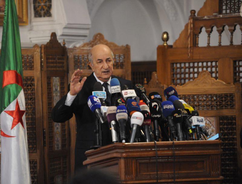 Photo of Abdelmadjid Tebboune nouveau président de l'Algérie .