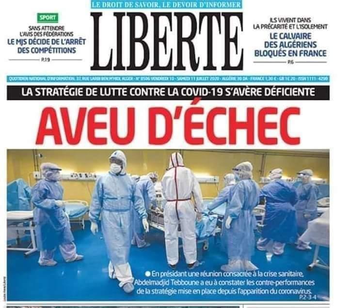 Photo of Le quotidien Liberté  sévèrement  rappelé à l'ordre